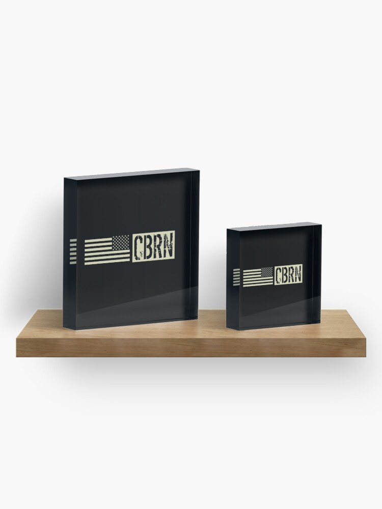 Alternate view of CBRN Acrylic Block