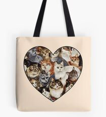 All The Kitties Tote Bag