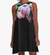 Hydrangea Gardens A-Line Dress