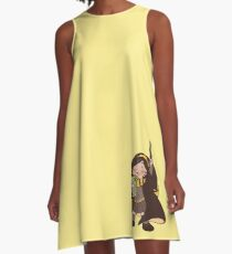 sibling trio - eldest A-Line Dress