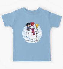Inflatable Snowman Kids Tee