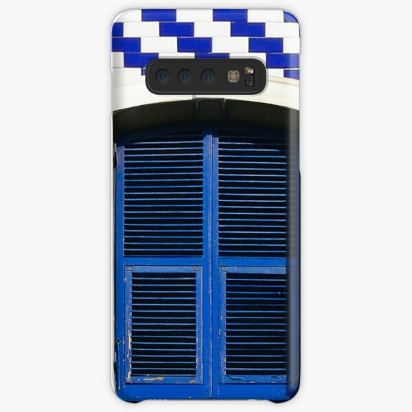 Blue & White Samsung Galaxy Snap Case