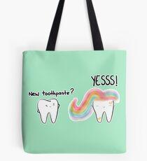 Einhorn Zahnpasta 2 Tote Bag
