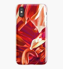 Into the red forest iPhone Case
