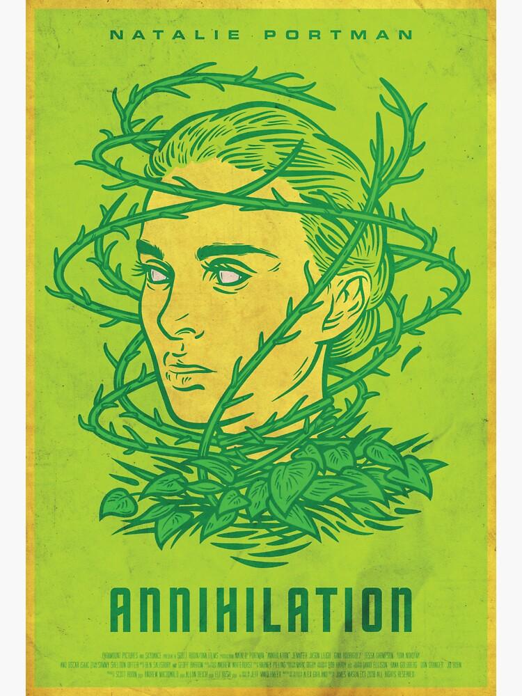 Annihilation Film Poster by jmason077