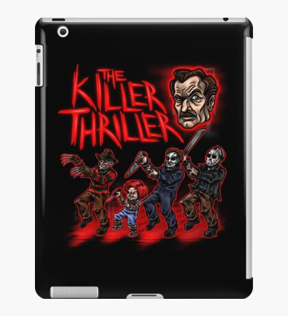 The Killer Thriller iPad Case/Skin