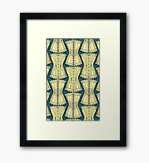 Of Corset Framed Print