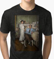 Nurse - Sick Day - 1937 Tri-blend T-Shirt