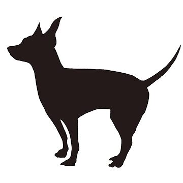 Rat Terrier Silhouette  by portraitlady
