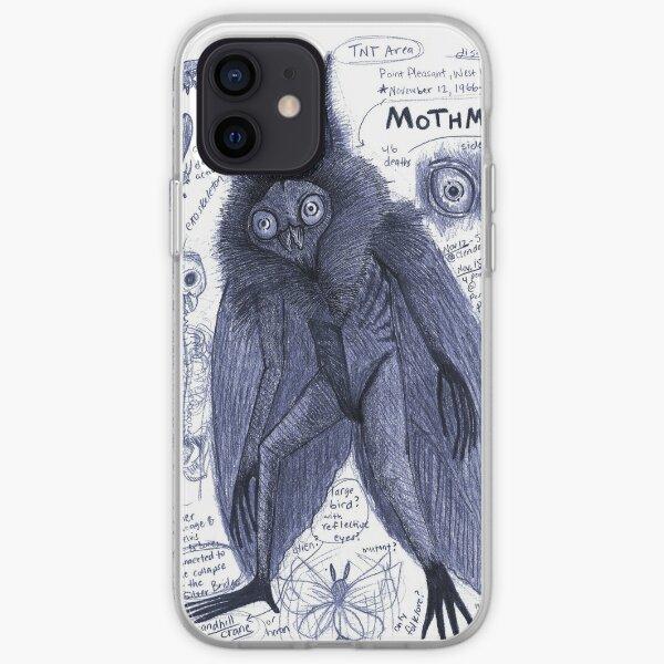 Mothman Anatomy Artwork by EgertronPuck iPhone Soft Case