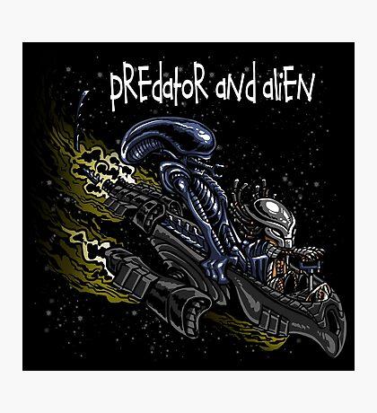 Predator and Alien Photographic Print