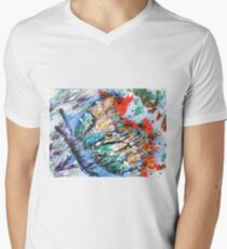 THE BUTTERFLY by H.Lin Men's V-Neck T-Shirt