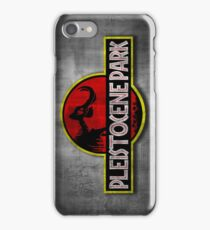 Pleistocene Park iPhone Case/Skin