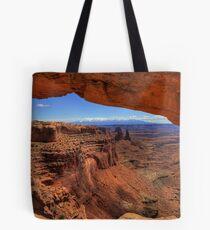 Mesa Arch, Moab Utah Tote Bag