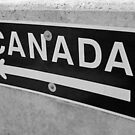 To Canada (Black & White) - New York by clarebearhh