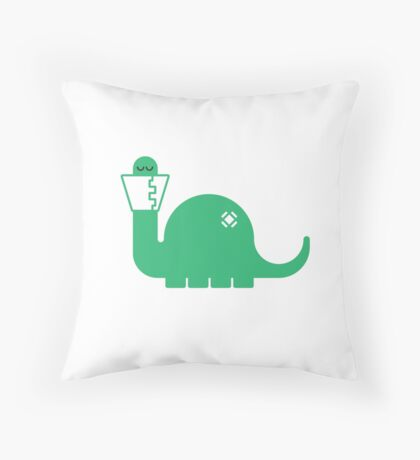 Dinosore Throw Pillow