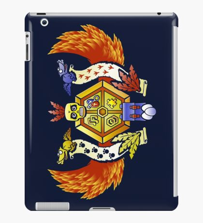 Treasure Hunters Crest (REVAMPED) iPad Case/Skin