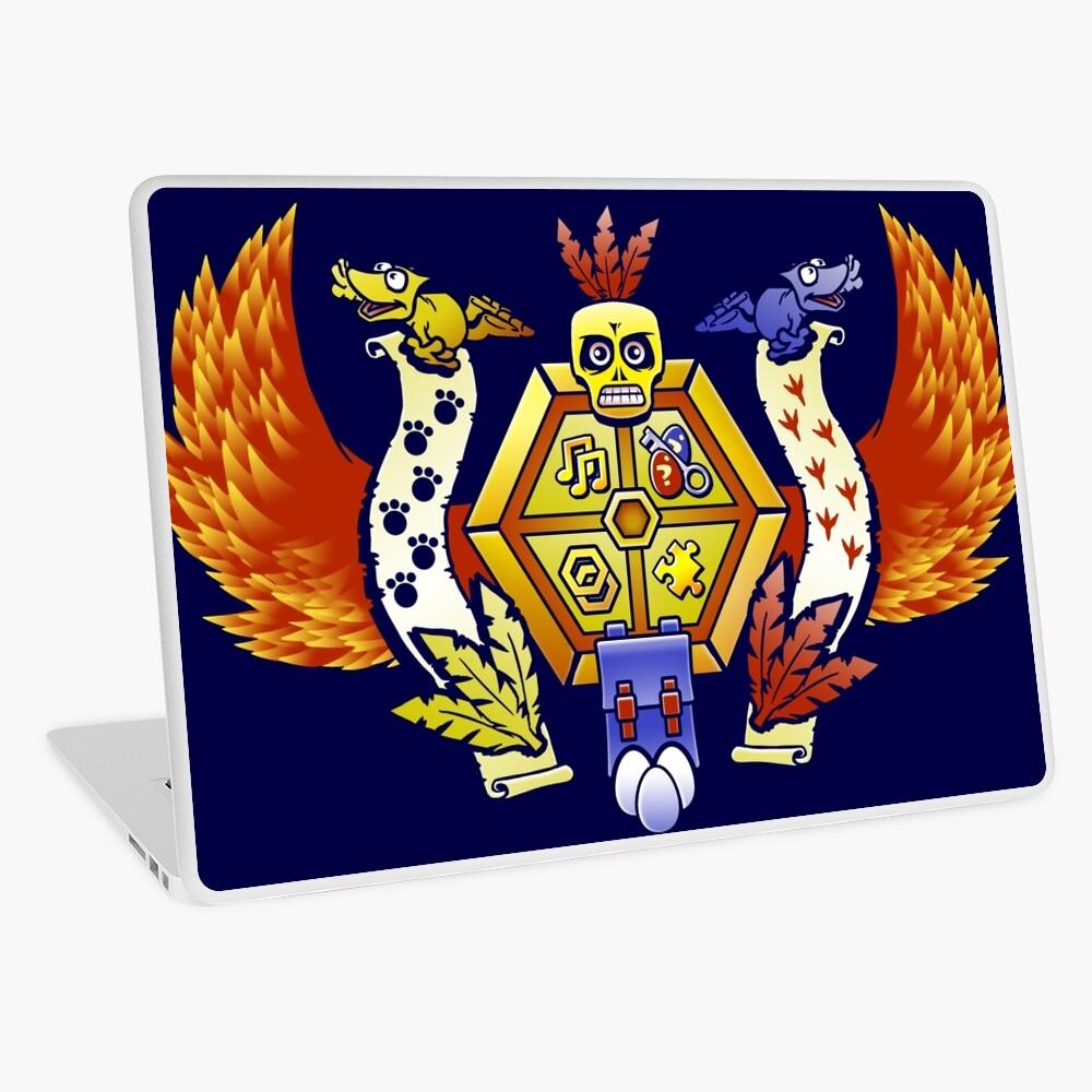 Treasure Hunters Crest (REVAMPED) Laptop Folie