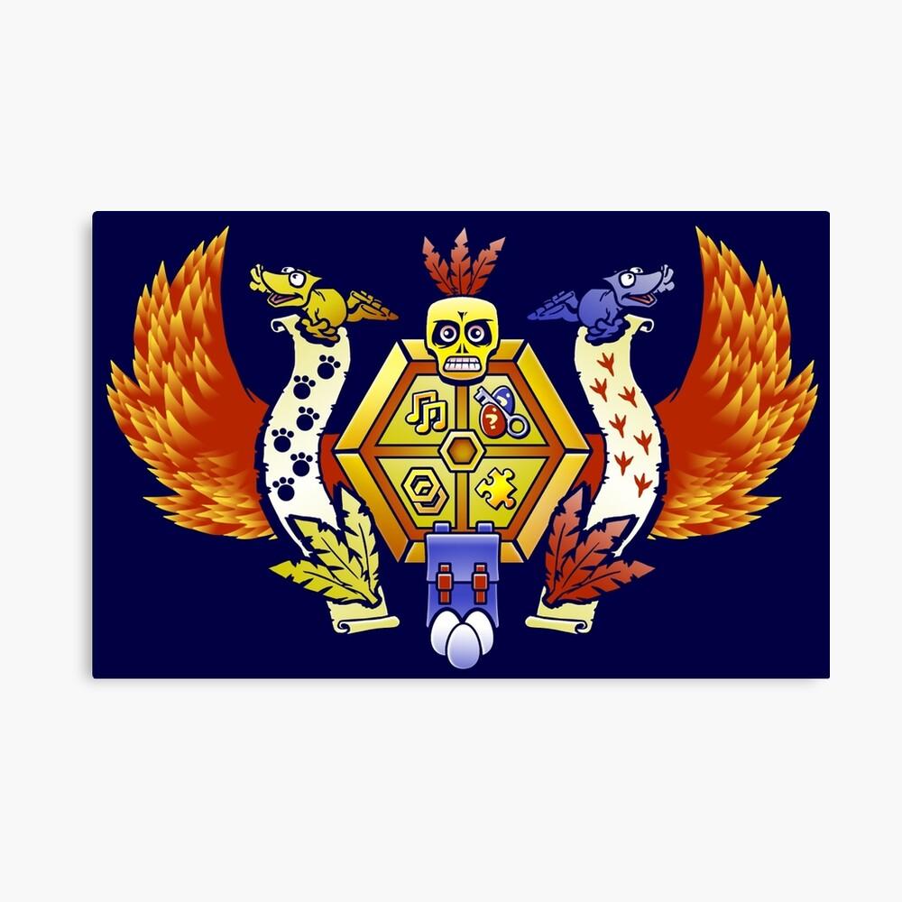 Treasure Hunters Crest (REVAMPED) Leinwanddruck