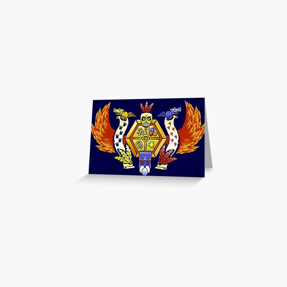 Treasure Hunters Crest (REVAMPED) Grußkarte