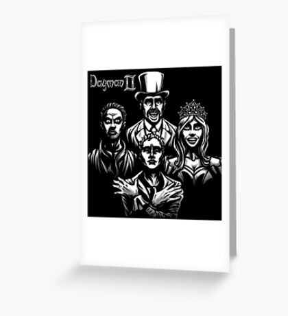 Dayman Rhapsody Greeting Card