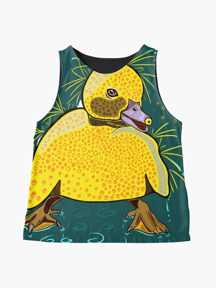 Alternate view of Happy Little Ducking Sleeveless Top