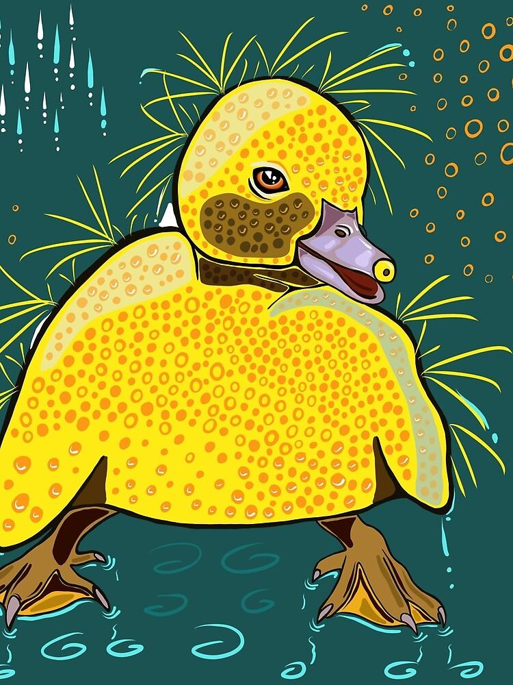 Happy Little Ducking by macduffstudio