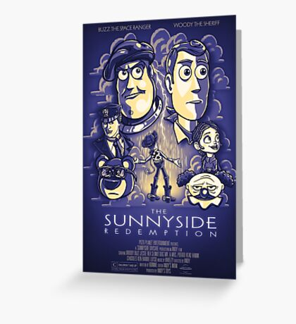 The Sunnyside Redemption Greeting Card
