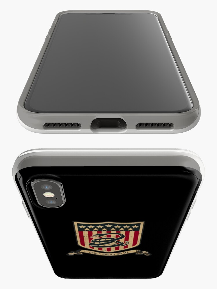Alternate view of Don't Tread On Me Soccer - Don Tread On Me iPhone Cases & Covers