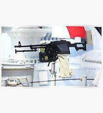 kalashnikov heavy machine gun Poster