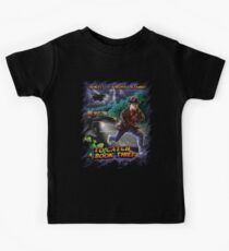 To Catch a Book Thief Kids Tee