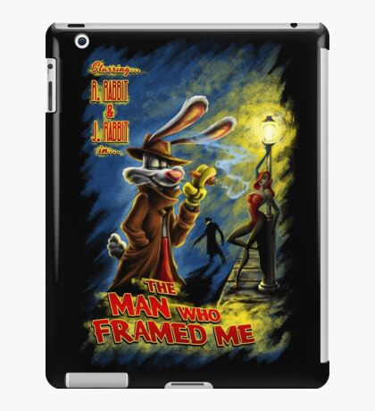 The Man Who Framed Me iPad Case/Skin