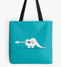 Guitarosaurus Tote Bag