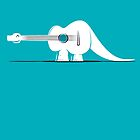 Guitarosaurus by SevenHundred