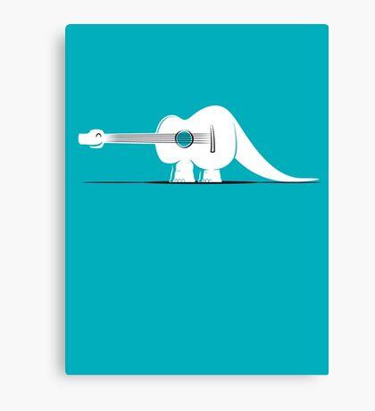 Guitarosaurus Canvas Print