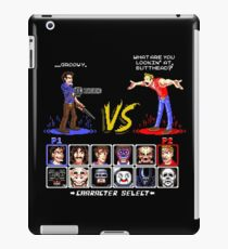 Super 80's Good Vs. Evil 2! iPad Case/Skin