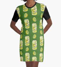 Lemon La Croix  Graphic T-Shirt Dress