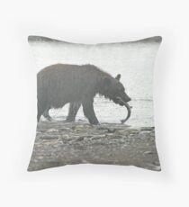 Bear Series # 21 Throw Pillow