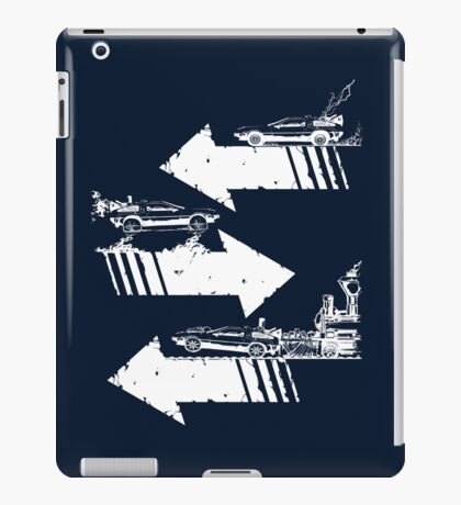 Time Distorted Minimalism iPad Case/Skin