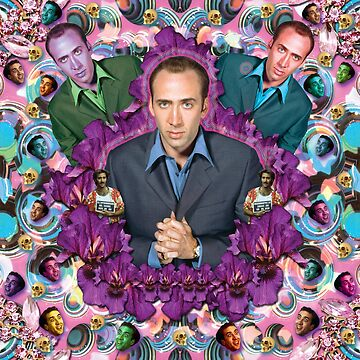 the mirror of my soul is mr. cage  by STORMYMADE
