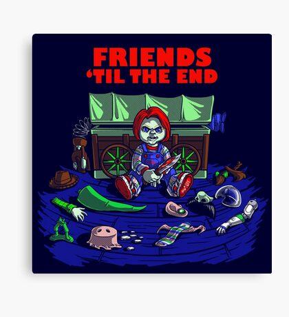 Friends 'Til The End Canvas Print