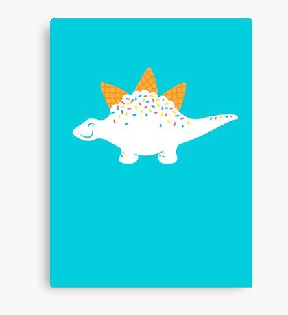 Coneasaurus Canvas Print