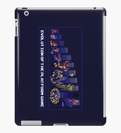 Evolution of the Platform Game iPad Case/Skin