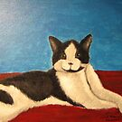 Momo the Cat by janetmarston