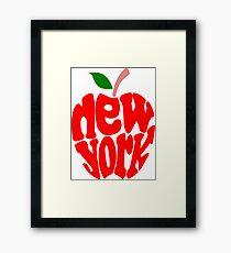 Big Apple New York Framed Print