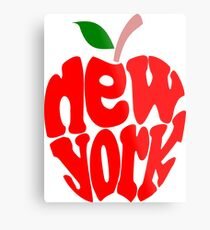Big Apple New York Metal Print