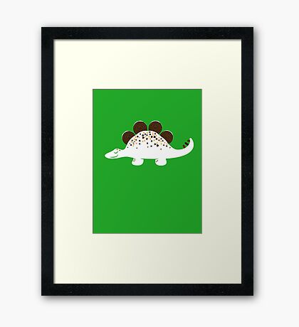 Coneasaurus Framed Print