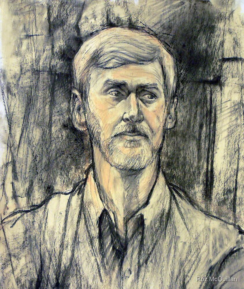 Portrait of Trevor by Roz McQuillan