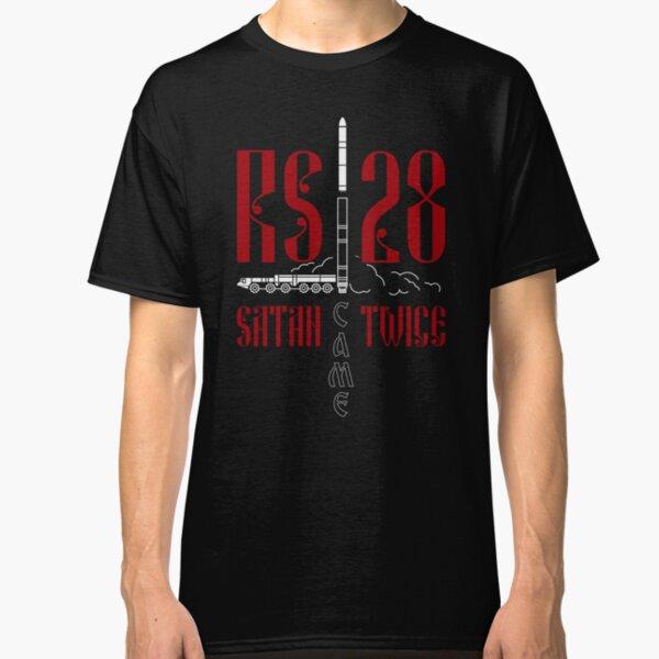 RS-28: Satan Came Twice Classic T-Shirt