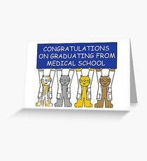 congratulations doctor greeting cards redbubble